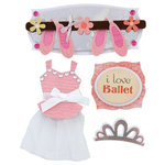 Karen Foster Design - Ballet Collection - Stacked Stickers - Ballerina