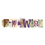 Karen Foster Design - Winery Collection - Stacked Statements - 3 Dimensional Adhesive Title - Finewine