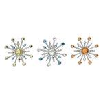 Karen Foster Design - Sparkle Burst Brads - Mediterranean