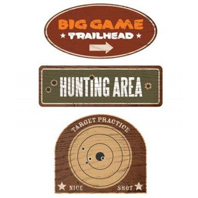 Karen Foster Design - Hunting Collection - Wood Signs - Hunting