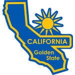 Karen Foster Design - STATE-ments Collection - Self Adhesive Metal Plates - California