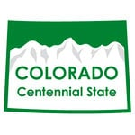 Karen Foster Design - STATE-ments Collection - Self Adhesive Metal Plates - Colorado