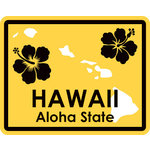Karen Foster Design - STATE-ments Collection - Self Adhesive Metal Plates - Hawaii