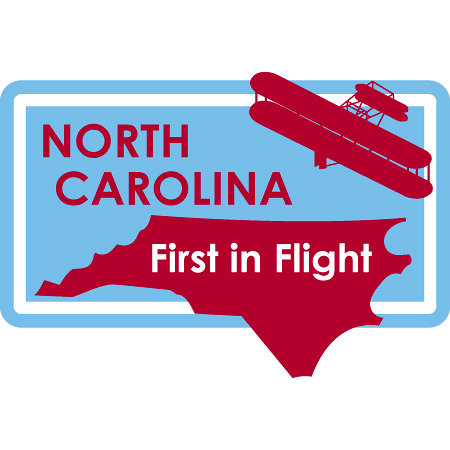 Karen Foster Design - STATE-ments Collection - Self Adhesive Metal Plates - North Carolina