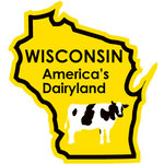 Karen Foster Design - STATE-ments Collection - Self Adhesive Metal Plates - Wisconsin