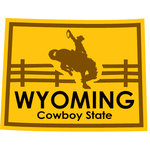 Karen Foster Design - STATE-ments Collection - Self Adhesive Metal Plates - Wyoming