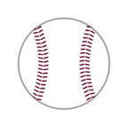 Karen Foster Design - SPORTS-ments Collection - Self Adhesive Metal Plates - Baseball