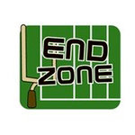 Karen Foster Design - SPORTS-ments Collection - Self Adhesive Metal Plates - End Zone