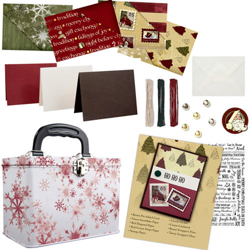 Karen Foster Design - Card Creation Kit - Christmas
