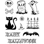 Karen Foster Design - Halloween Collection - Clear Acrylic Stamps