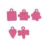 Karen Foster Design - Scraparatus Die Sets - Pinky Dinky Dies - Sassy Shapes, CLEARANCE