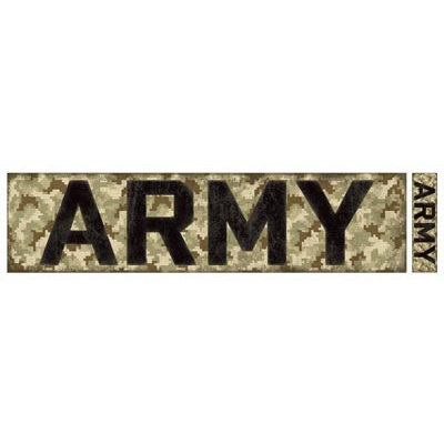 Karen Foster Design - Military Collection - Cardstock Sticker - Army Title