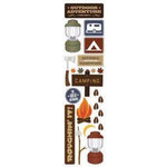 Karen Foster Design - Outdoors Collection - Clear Stickers - Outdoor Adventure