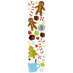 Karen Foster Design - Christmas Cooking Collection - Clear Stickers - Christmas Treats, CLEARANCE