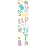 Karen Foster Design - Baby Shower Collection - Clearly Stickers - Maternity