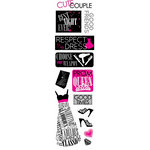 Karen Foster Design - Prom Collection - Clear Stickers - Prom Chic