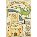 Karen Foster Stickers - My Brave Knight