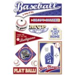 Karen Foster Design - Baseball Collection - Sticker - Play Ball