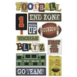 Karen Foster Design - Touchdown Collection - Sticker - Football Touchdown
