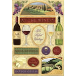 Karen Foster Design - Winery Collection - Cardstock Stickers - The Winery