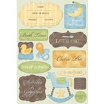 Karen Foster Design - Baby Boy Collection - Stickers - Cutie Pie