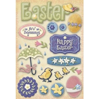 Karen Foster Design - Easter Collection - Stickers - Easter Time