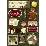 Karen Foster Design - Christmas Collection - Cardstock Stickers - Christmas Eve