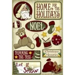 Karen Foster Design - Christmas Collection - Cardstock Stickers - Home for the Holidays