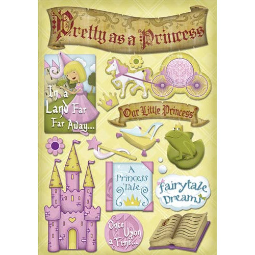 Karen Foster Design - Princess Collection - Cardstock Stickers - Little Princess