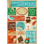 Karen Foster Design - Baby's First Collection - Cardstock Stickers - Growing Up