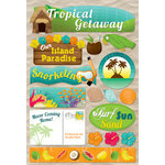 Karen Foster Design - Cardstock Stickers - Tropical Getaway