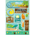 Karen Foster Design - Cardstock Stickers - This Is Paradise