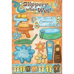 Karen Foster Design - Water Fun Collection - Cardstock Stickers - Splish Splash