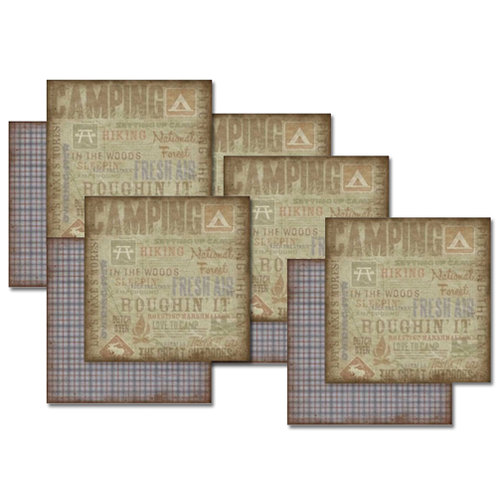 Karen Foster Design - Outdoors Collection - 12x12 Paper Packs - Wilderness