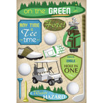 Karen Foster Design - Golf Collection - Cardstock Stickers - Men's Tee Time