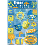 Karen Foster Design - Hanukkah Collection - Cardstock Stickers - Hanukkah