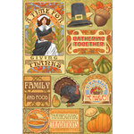 Karen Foster Design - Thanksgiving and Autumn Collection - Cardstock Stickers - Giving Thanks