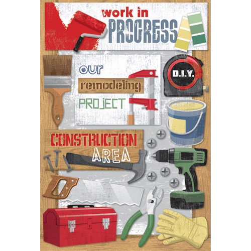 Karen Foster Design - DIY Collection - Cardstock Stickers - Our Remodeling Project