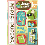 Karen Foster Design - Grade School Collection - Cardstock Stickers - Second Grade