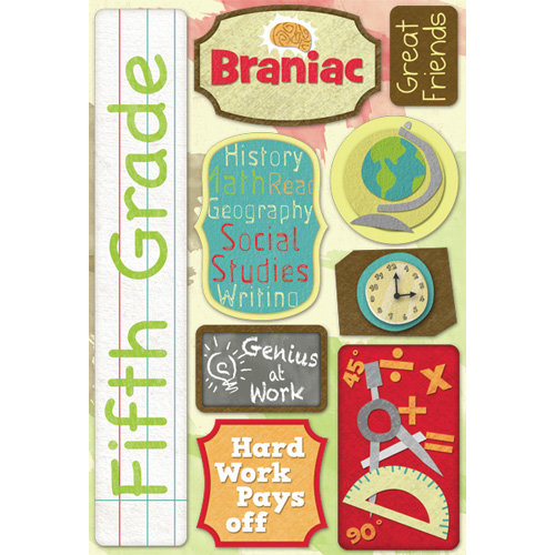 Karen Foster Design - Grade School Collection - Cardstock Stickers - Fifth Grade