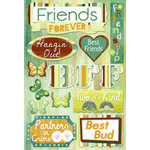 Karen Foster Design - Best Friends Collection - Cardstock Stickers - Friends Forever