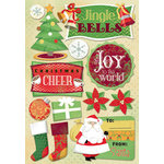 Karen Foster Design - Christmas Collection - Cardstock Stickers - Jingle Bells