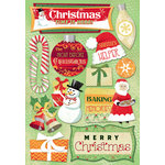 Karen Foster Design - Christmas Collection - Cardstock Stickers - Christmas Time