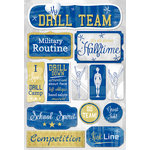 Karen Foster Design - Drill Team Collection - Cardstock Stickers - Drill Team