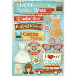 Karen Foster Design - Grandma Collection - Cardstock Stickers - Classic Grandma