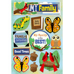 Karen Foster Design - Kid's Ancestry - Cardstock Stickers - My Family