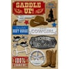 Karen Foster Design - Cowboy Horse Collection - Cardstock Stickers - Saddle Up