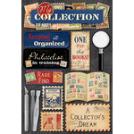 Karen Foster Design - Coin Collecting and Stamp Collecting Collection - Cardstock Stickers - Stamp Collecting