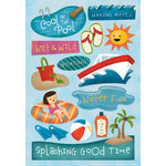 Karen Foster Design - Water Fun Collection - Cardstock Stickers - A Splashing Good Time