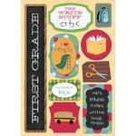 Karen Foster Design - School Collection - Cardstock Stickers - I Am In First Grade